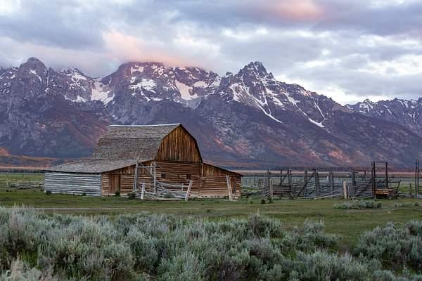 Morman Barn in Morning Light-Edit