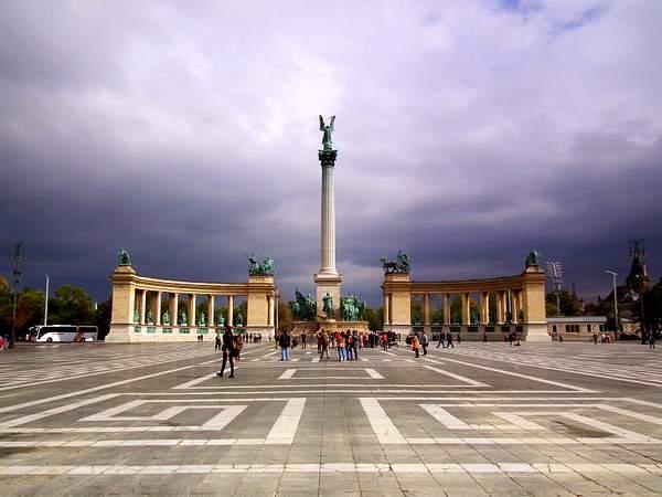Millennium Monument, Heroes Square, Budapest