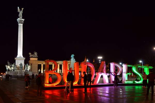 Budapest installation