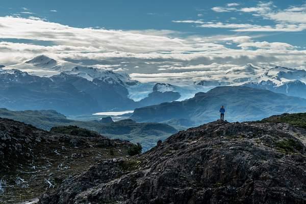 View of Pingo Glacier