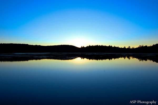 EM Lake sun setting 1-1