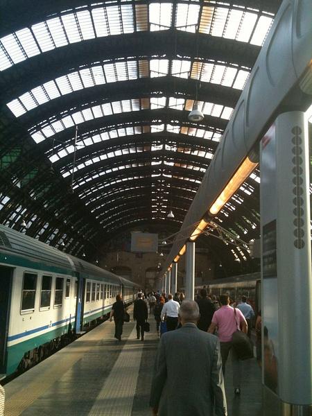 Interrailing - Milan by MichaelJarvis