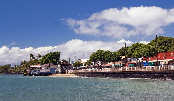 Old Lahina Harbor, Maui, Hawaii