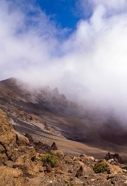 Haleakala Volcanic Crater, View No. 1