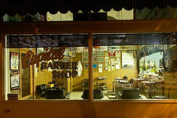 Barber Shop Nocturne