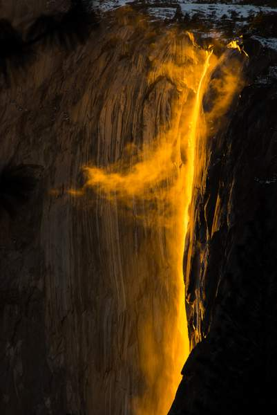 Firefall at Horsetail Fall
