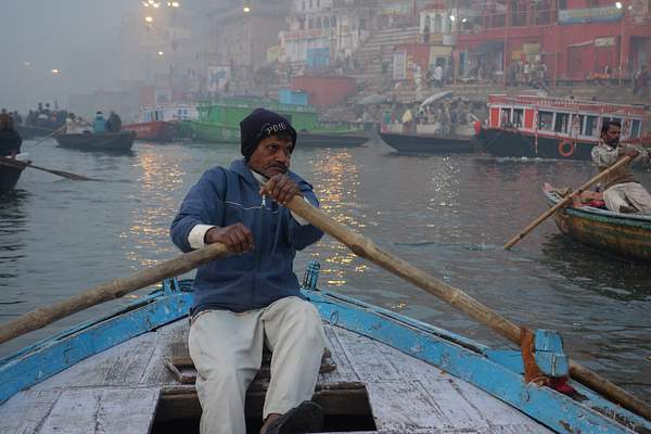Boat Operator, Varanasi, India