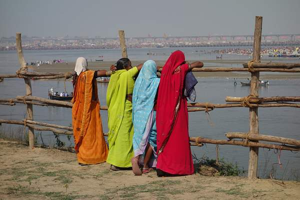 Women at Kumbh Mela Festival, India
