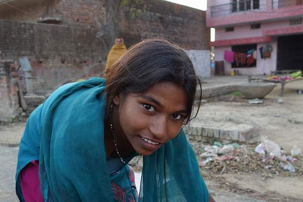 Young woman, India