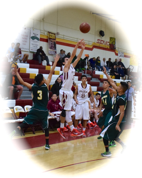 Varsity, & JV vs Saddleback 1/28/15 by Robert Pettingill