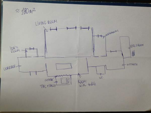 Tal apartment plan