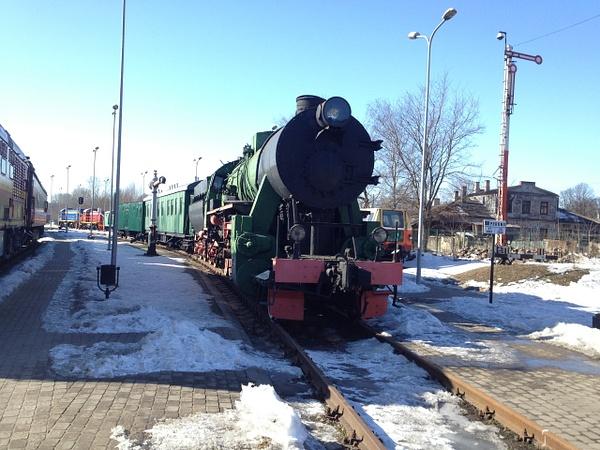 LV - TRAIN by Svetlana Punte