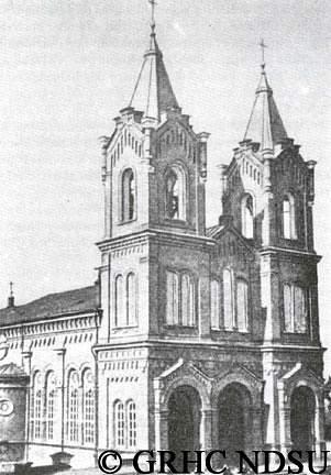 Klemens Cathedral in Saratov, Volga region