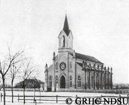 Evangelical church in Eugenfeld, Tauren