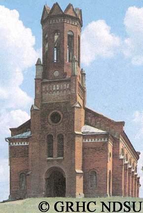 Evangelical-Lutheran church in Walter (Gretschino) - Volga Region