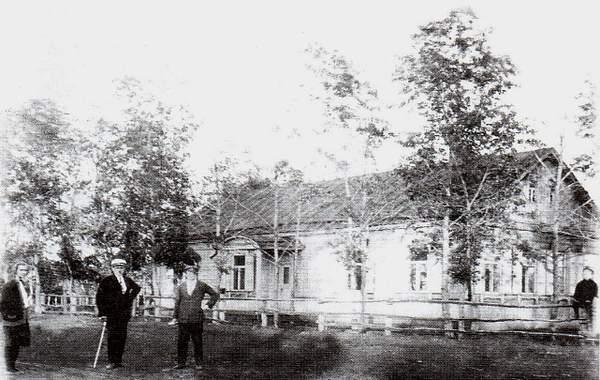 Школа в Миролюбовке. 1910 г.