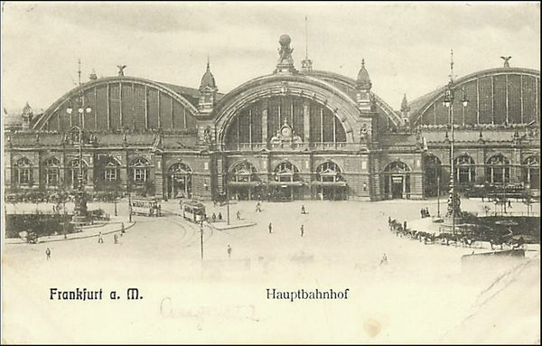 GERMANY-FRANKFURT-CENTRAL STATION-HAUPTBAHNHOF