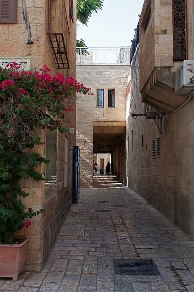 in old Jerusalem
