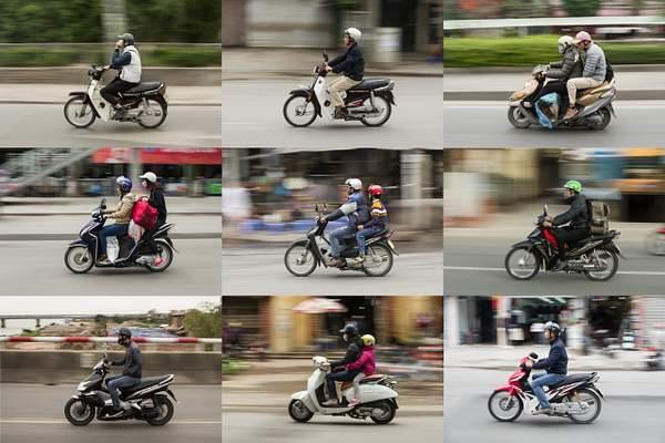 Scooters of Hanoi