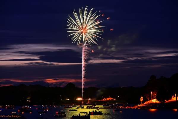 SC Palmetto Tree Fireworks